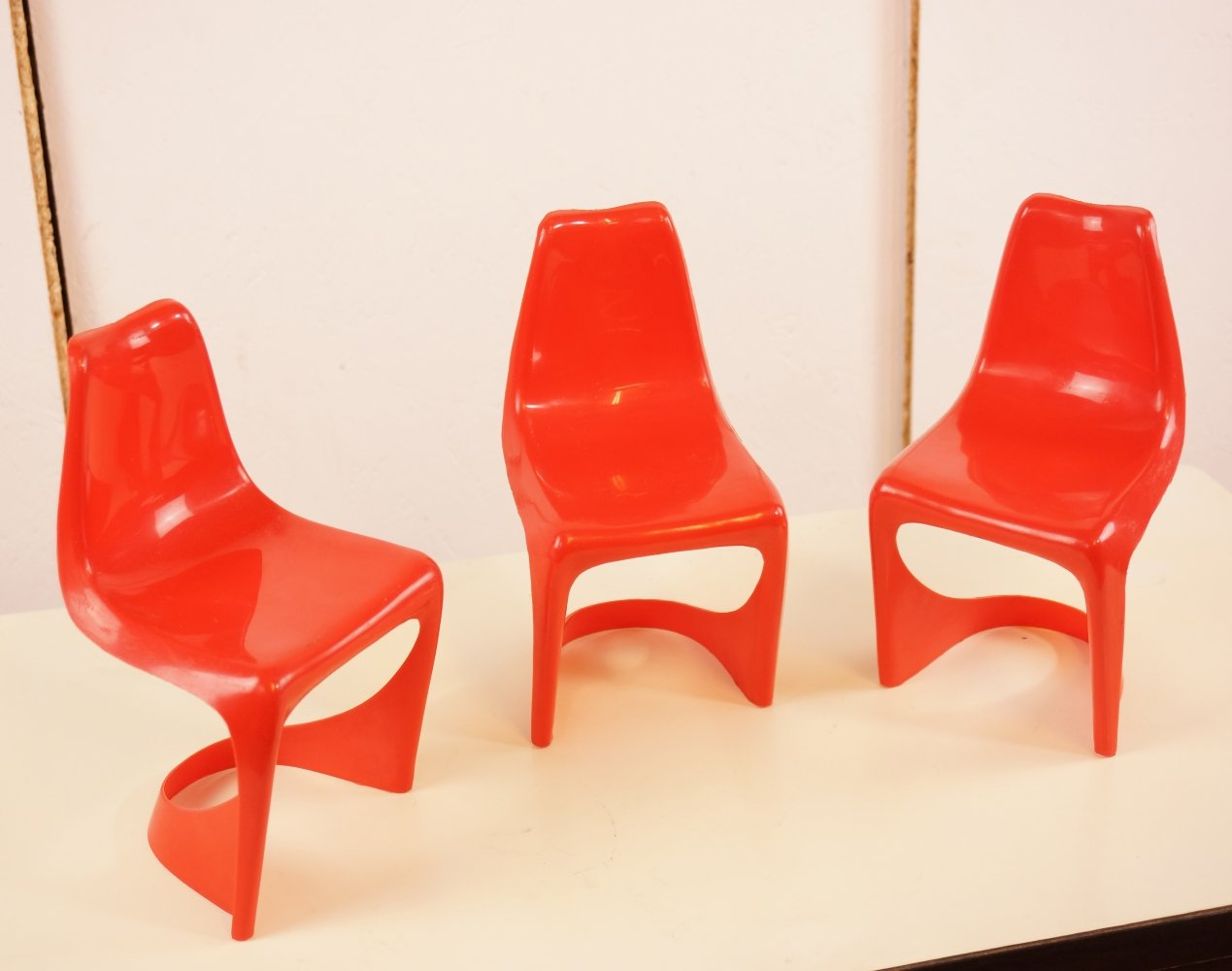 3 Steen Østergaard Chair Miniatures, 1970s