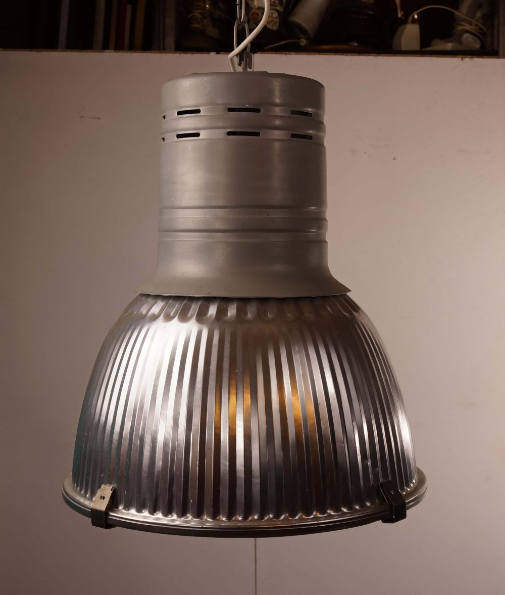Large Industrial Hanging Light, 1980s