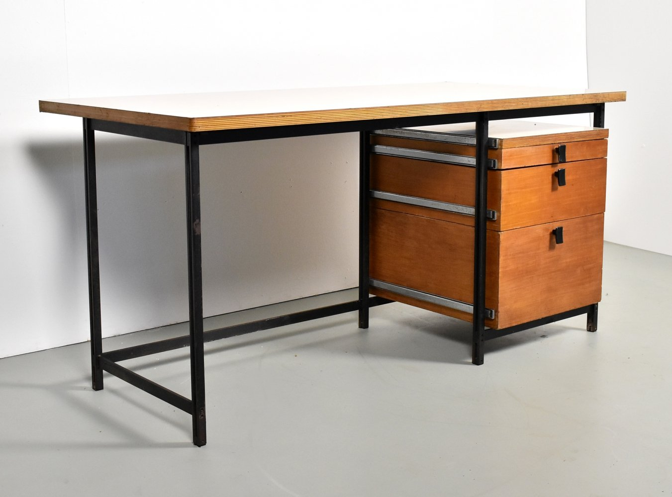 Writing desk by Jules Wabbes for Mobilier Universel, 1960s