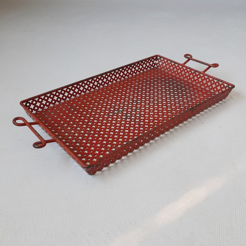 Serving Tray by Mathieu Matégot for Artimeta, 1950s