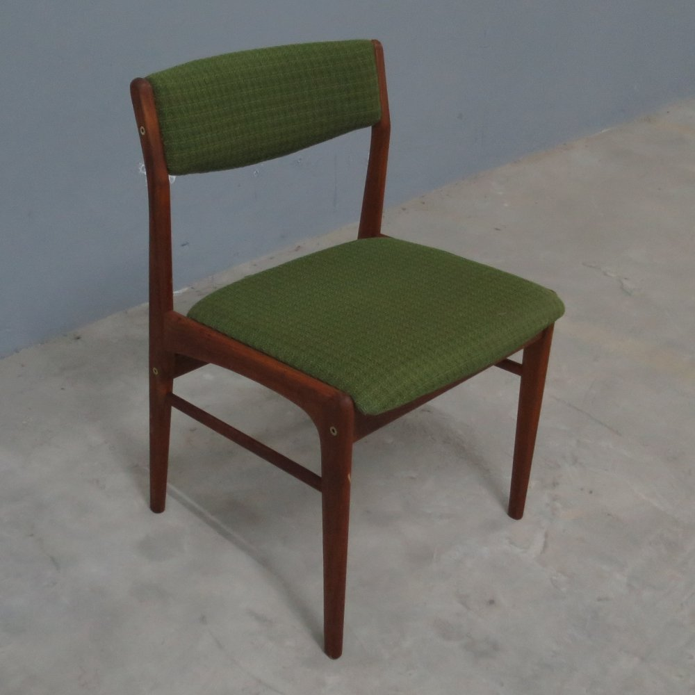 Vintage Scandinavian Danish teak dining room chair, 1960s