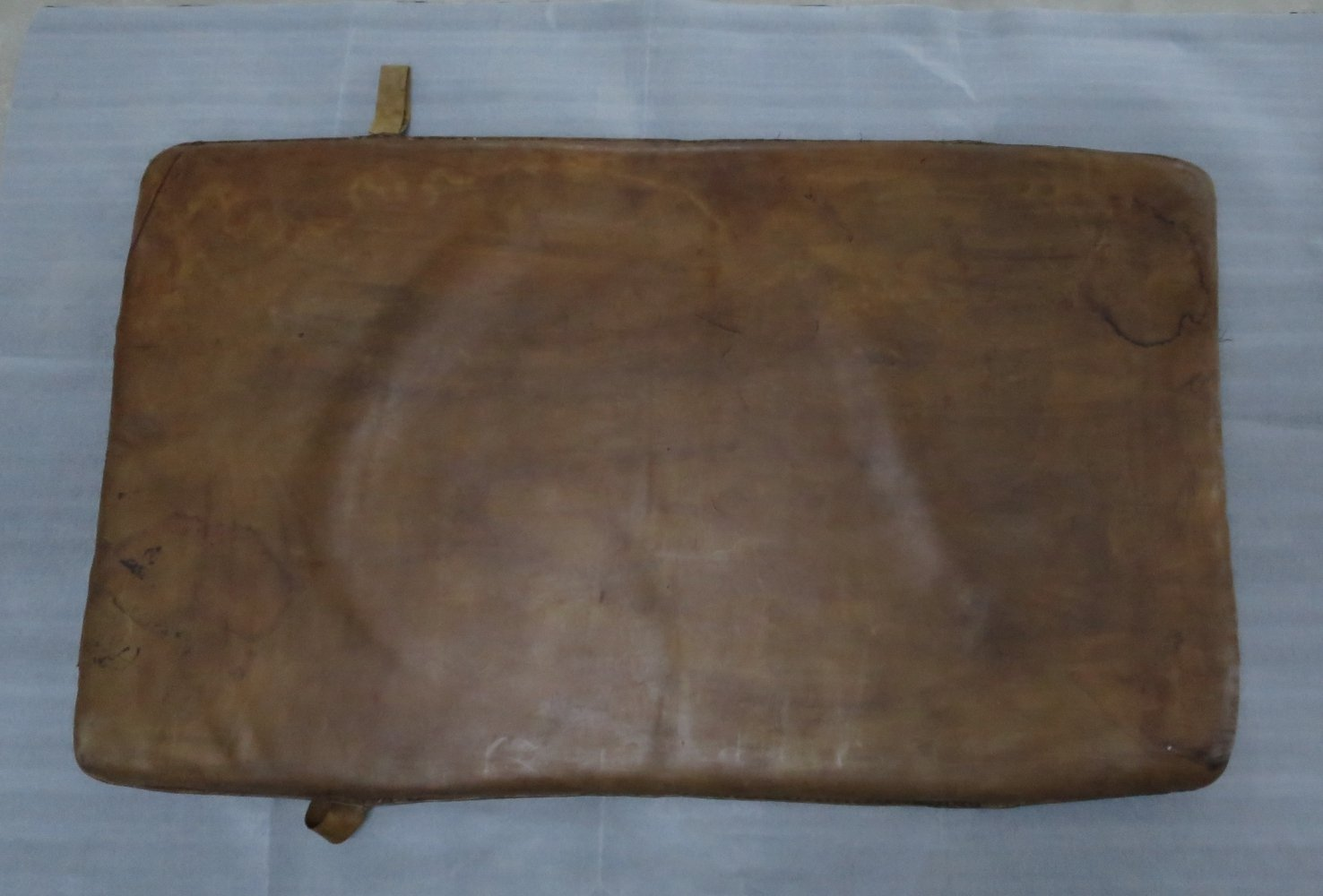 Vintage leather gym mat, 1930s