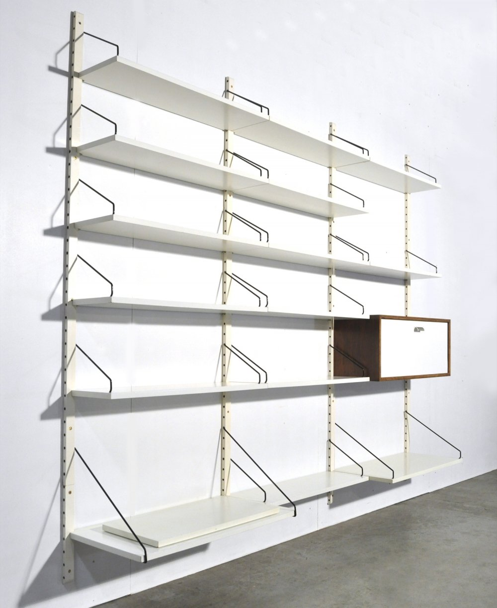 Modular Royal System wall-unit by Poul Cadovius for Cado, 1960s