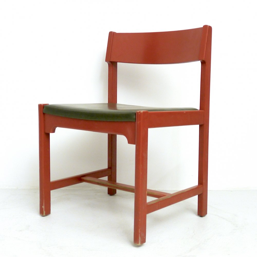 Set of 4 Borge Mogensen Dining Chairs, 1960s