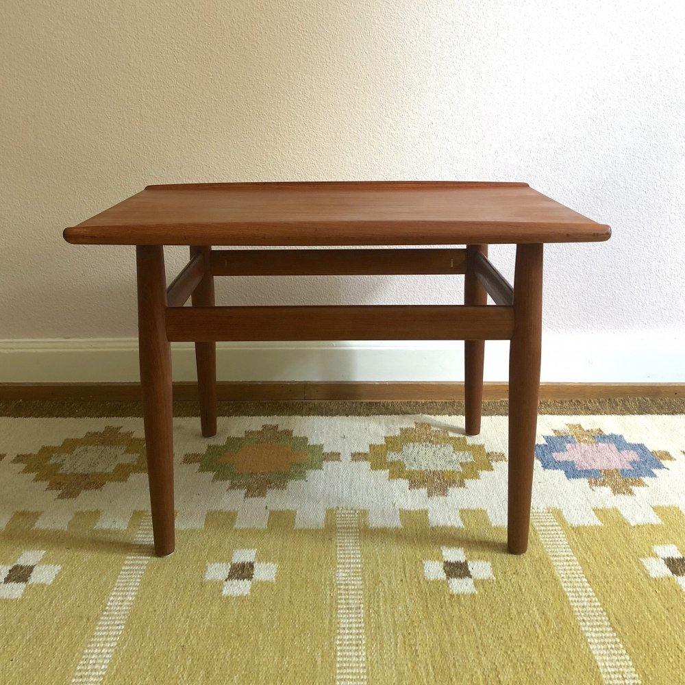 Grete Jalk Teak Coffee Table for Glostrup, 1960s