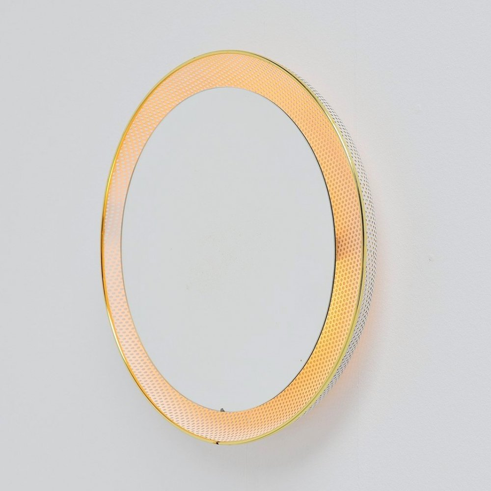 Artimeta wall mounted mirror by Floris Fiedeldij, Holland 1960
