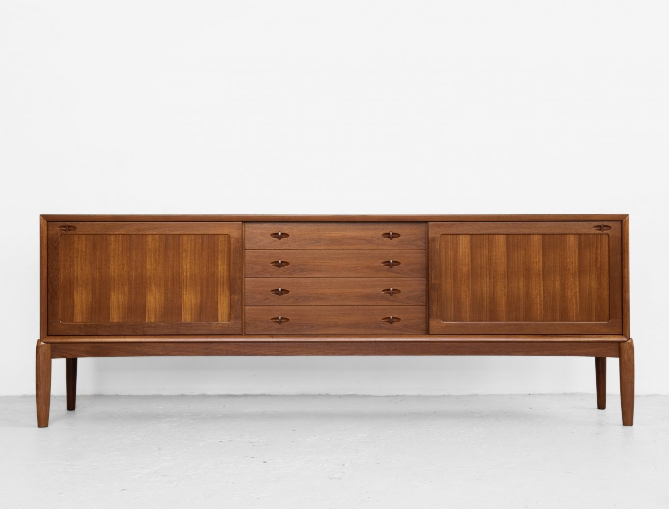 Midcentury Danish sideboard in teak by HW Klein for Bramin, 1960s