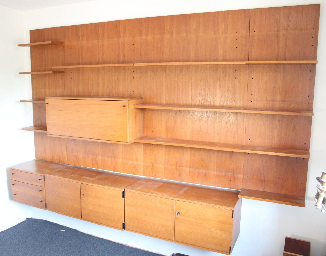 Wall unit by Günter Renkel for Rego, 1960s