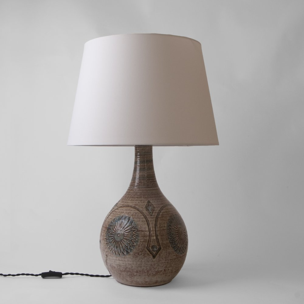 Table lamp by the Søholm workshop, Denmark 1960s
