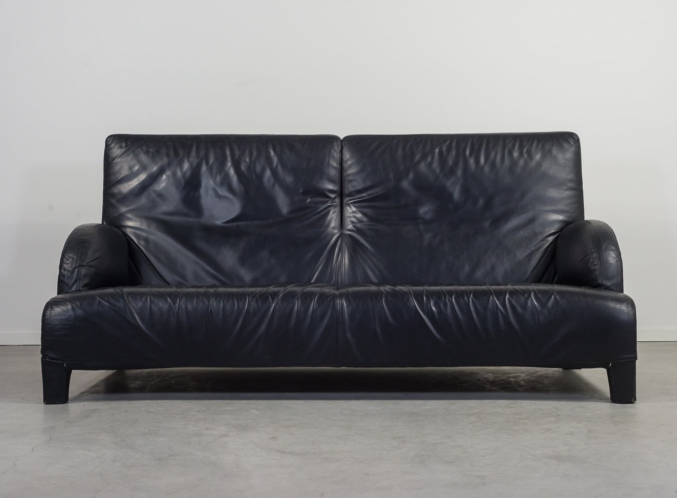 Italian Design Leather Sofa By Antonio