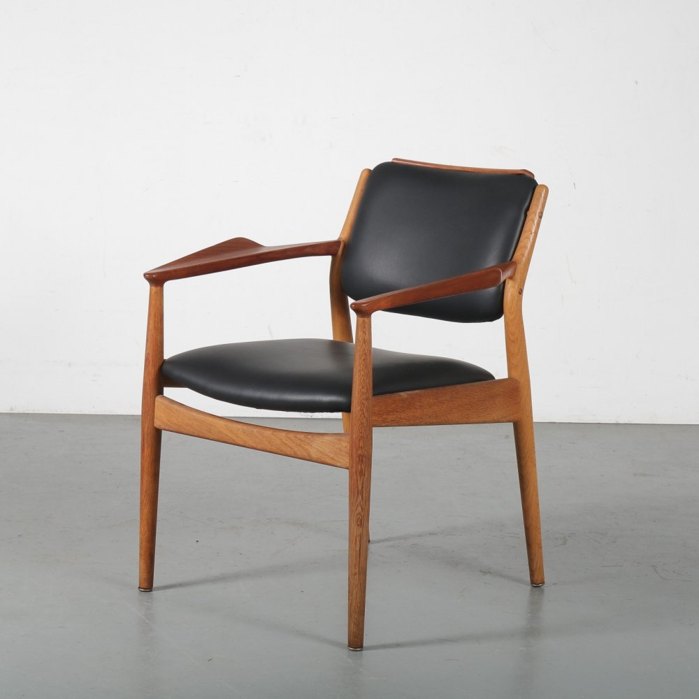 1950s Teak side chair by Arne Vodder for Sibast, Denmark