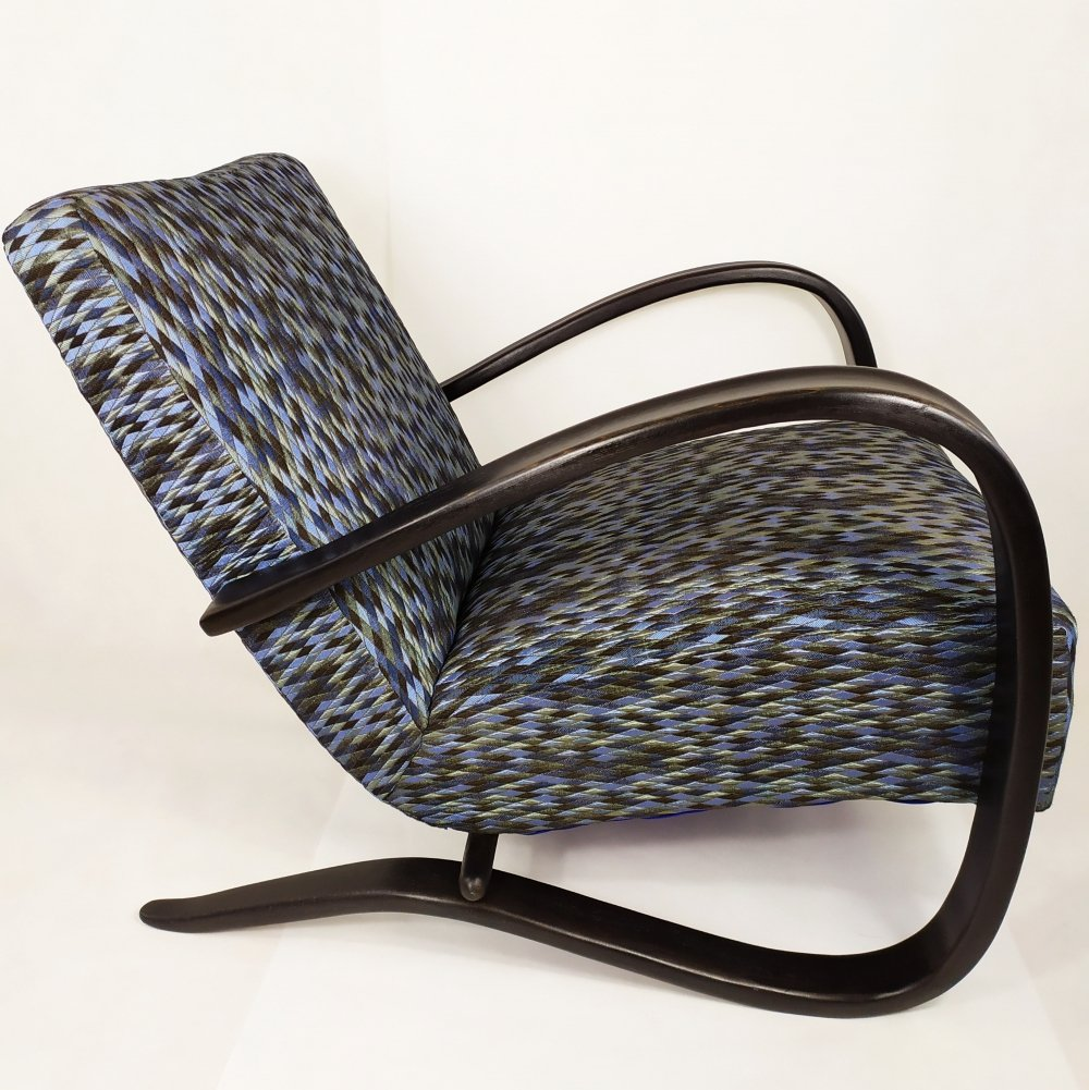 H-269 arm chair by Jindrich Halabala for Thonet, 1940s
