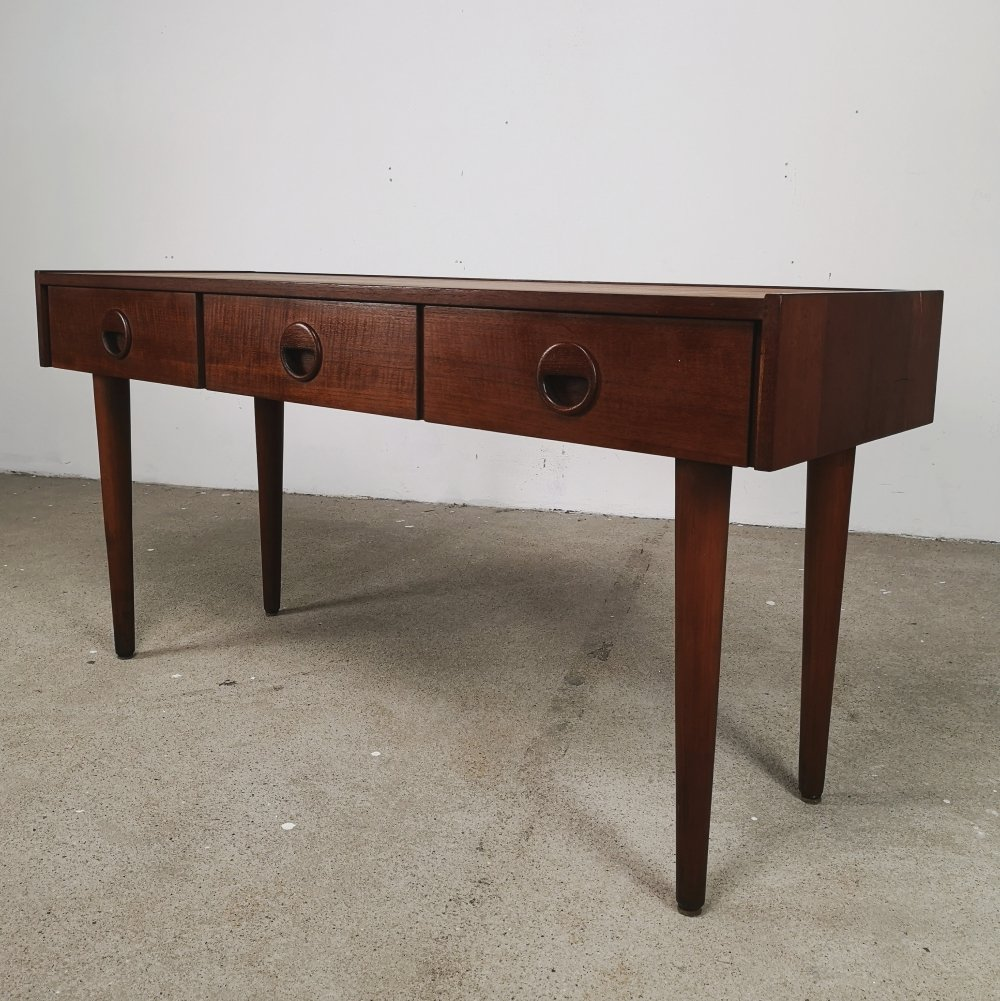 Danish lowboard with drawers, 1960s