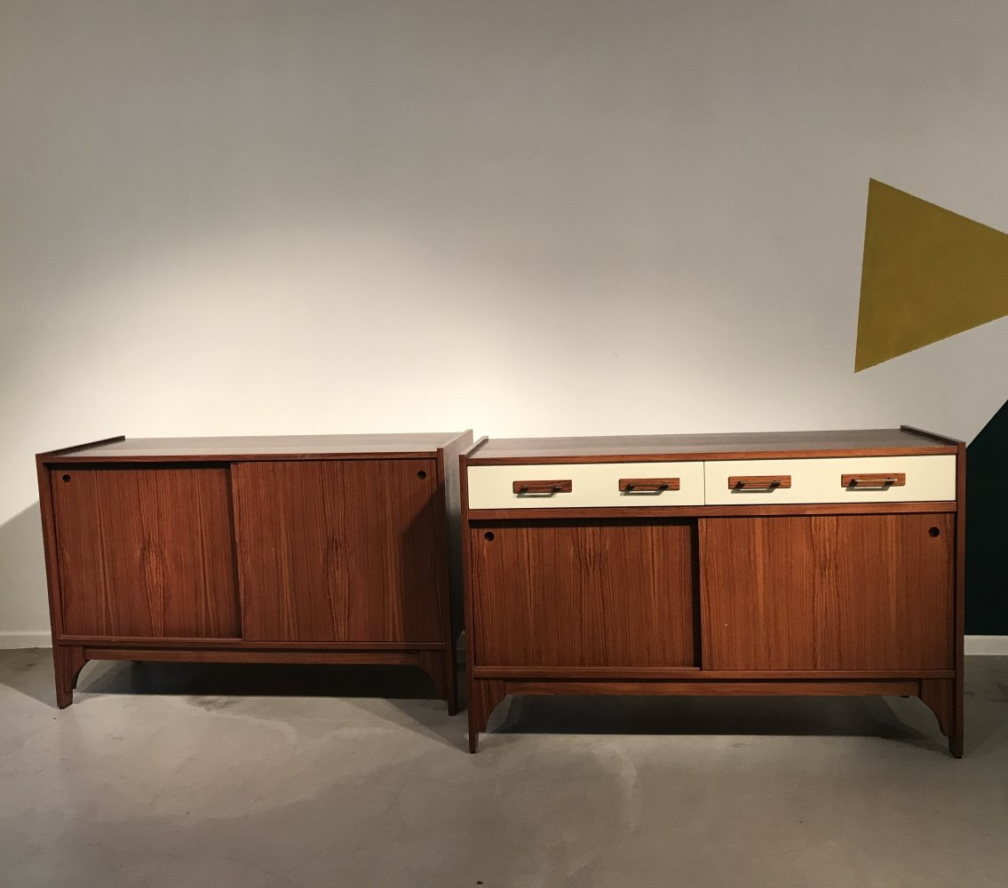 Pair of sideboards, Italy 1970s