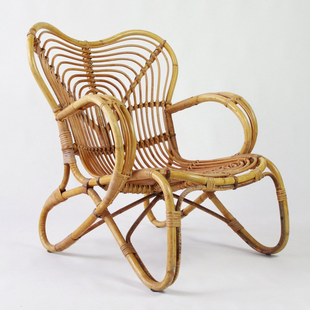Mid century lounge chair by Trio Noordwolde, 1960s