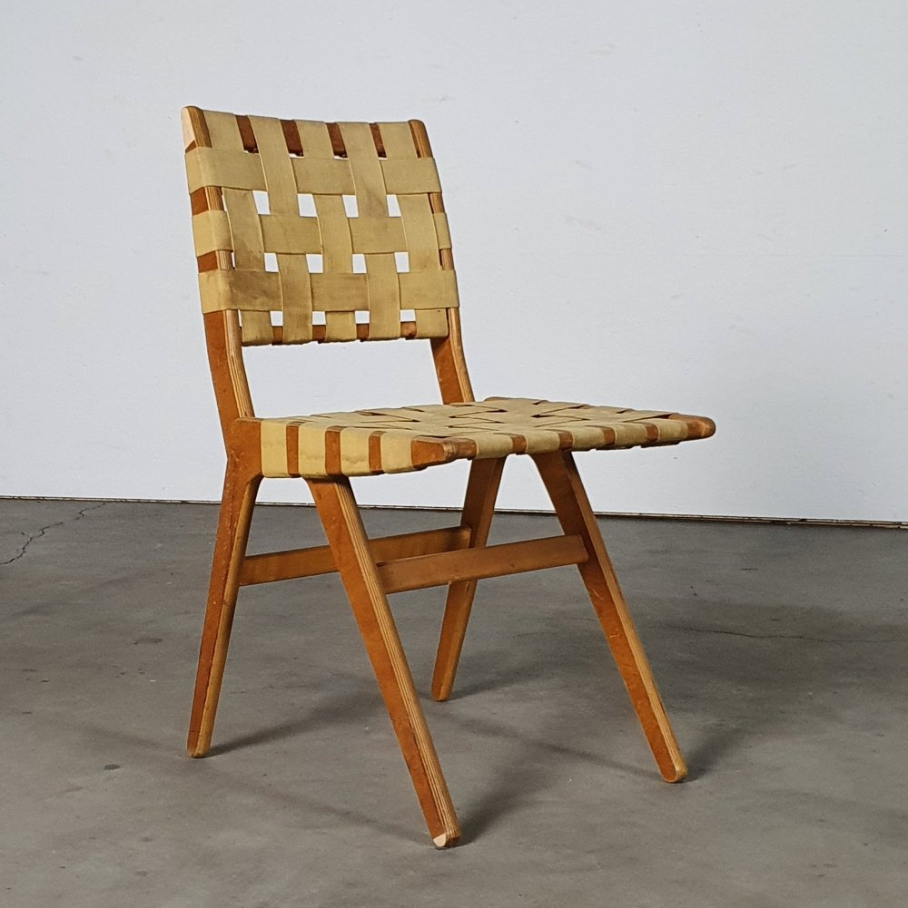 Very rare Pastoe chair by Dirk van Sliedrecht, 1954