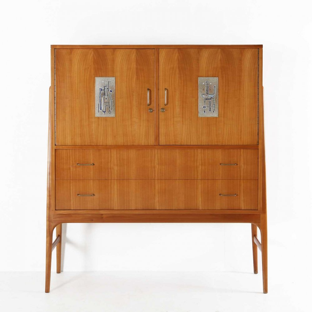 Cabinet by Alfred Hendrickx for Hubert Verbeke, 1960s