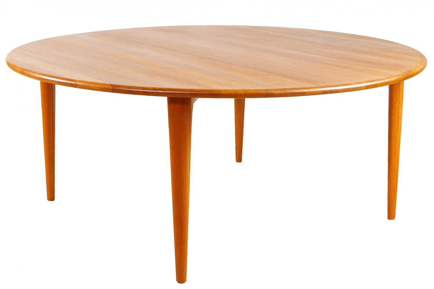 Solid Teak Coffee Table from A. Mikael Laursen