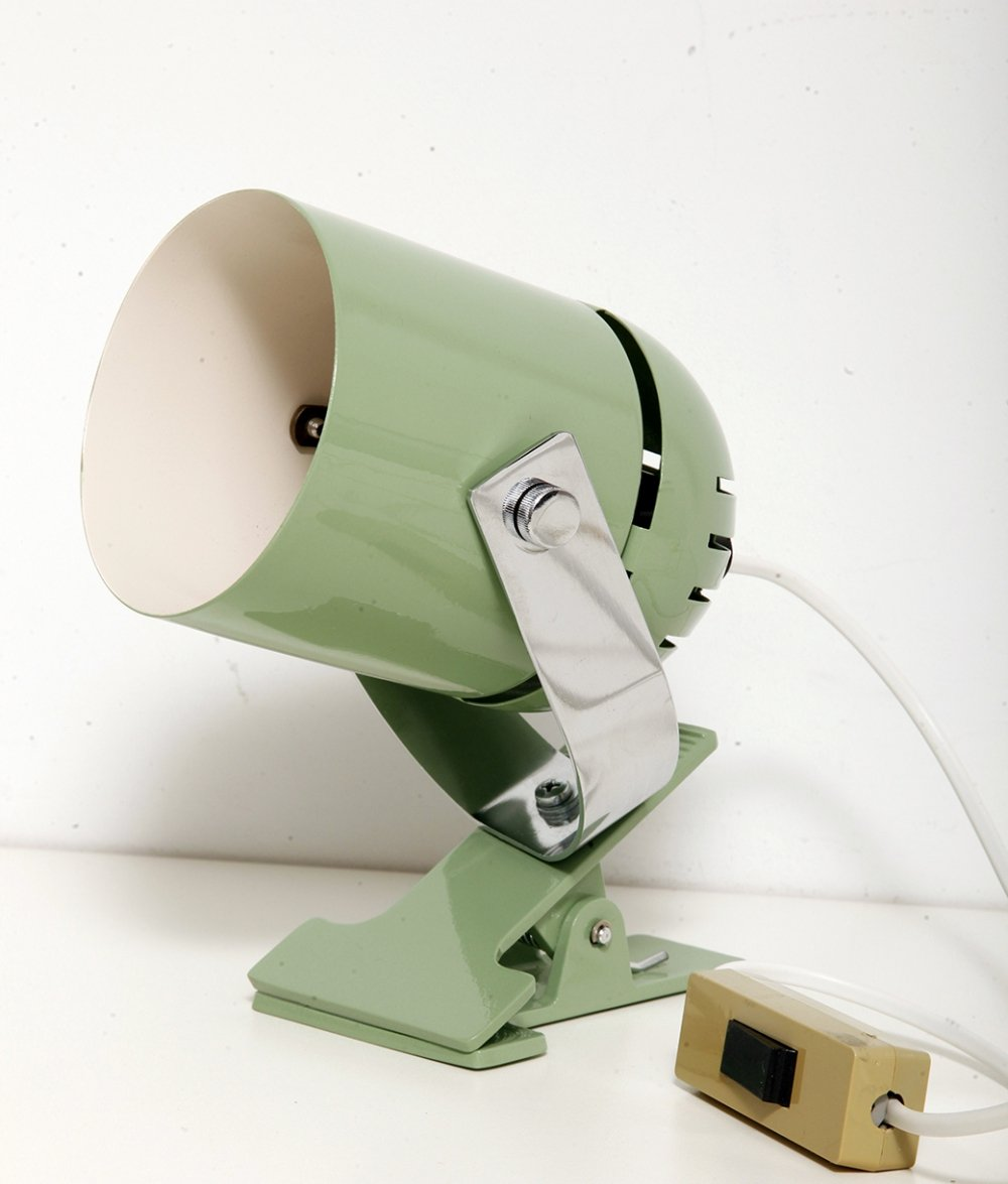 Combilux Green wall lamps by Indra Stanislav for Lidokov, 1970s
