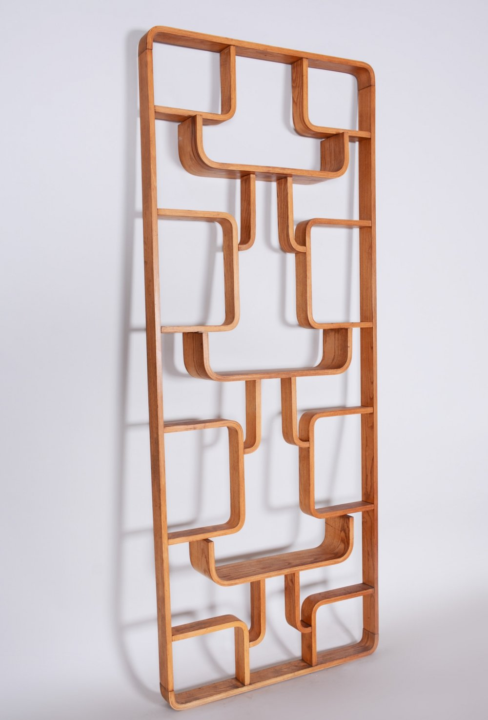 Ash Room Divider Wall Unit by Ludvik Volak for Drevopodnik Holesov, 1960s