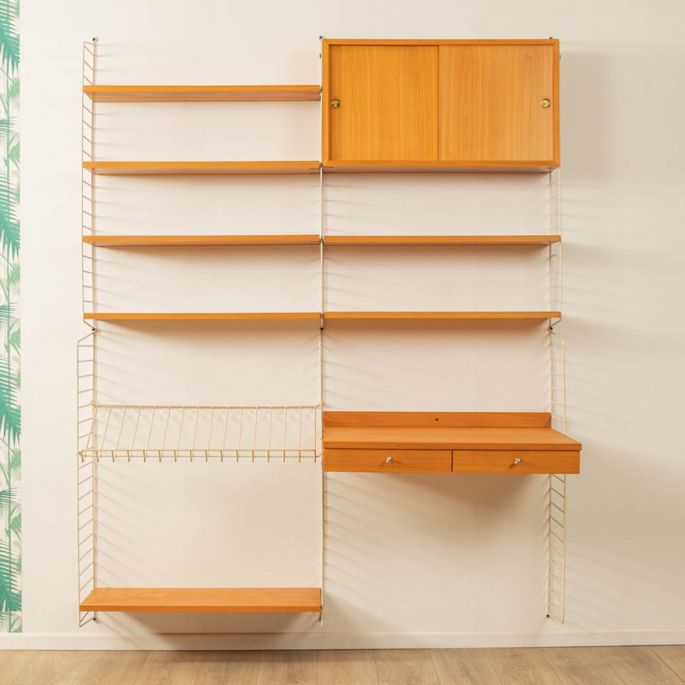String wall unit by Nils Strinning, Sweden 1950s
