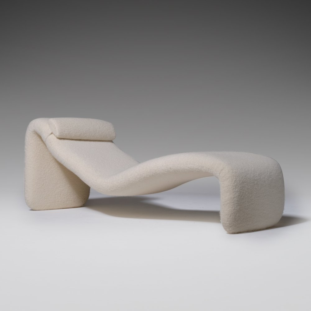Djinn Chaise Longue by Olivier Mourgue for Airborne, 1960