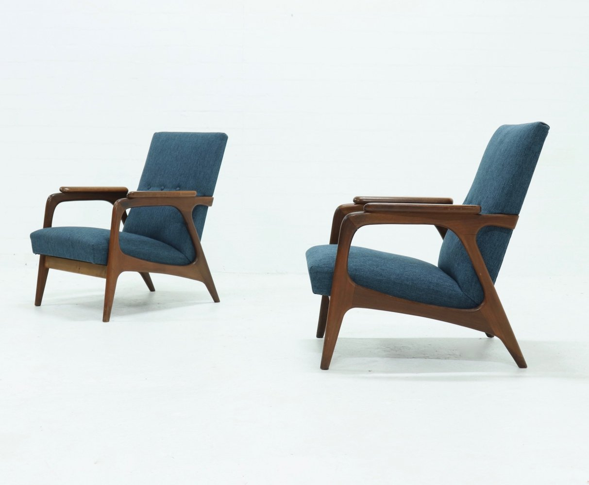 Set of 2 Mid-Century Teak Armchairs by Topform, 1960s