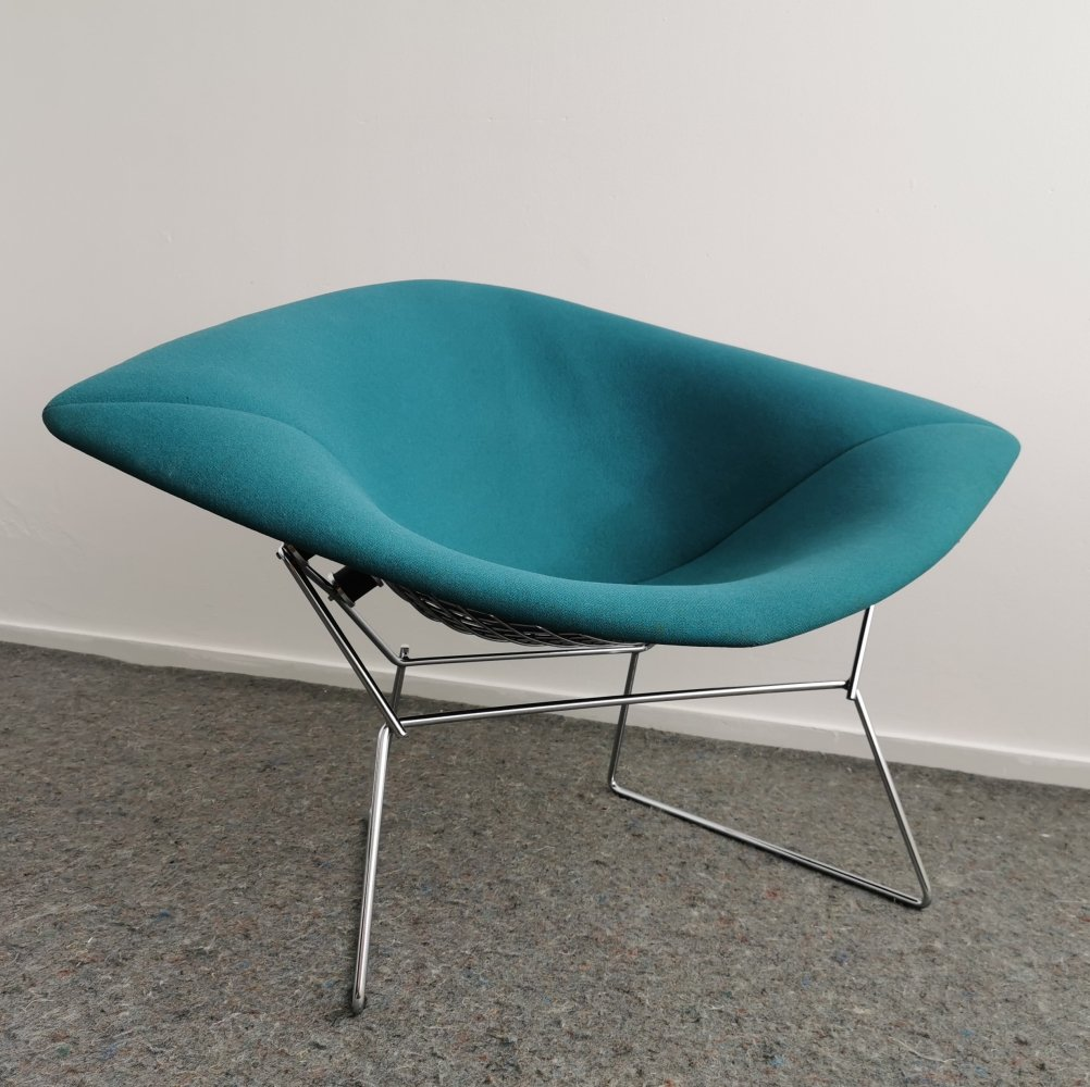 Large Diamond Chair 422 by Harry Bertoia for Knoll, 1990s