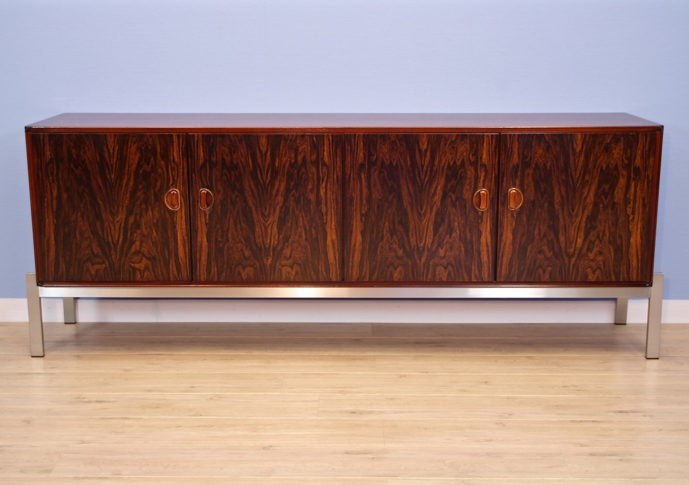 Dutch sideboard in rosewood by Kho Liang Ie for Fristho, 1960s