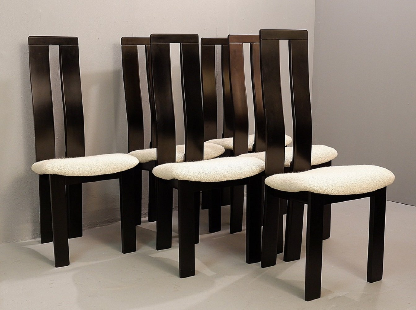 Set of 6 Dining Chairs by Pietro Costantini for Ello, 1970s | #131518