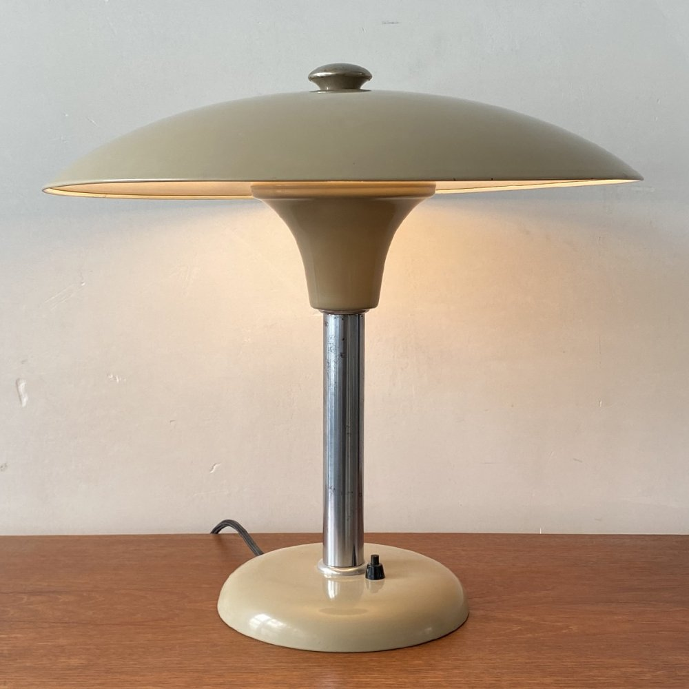 Vintage German table lamp by Max Schumacher, 1930s