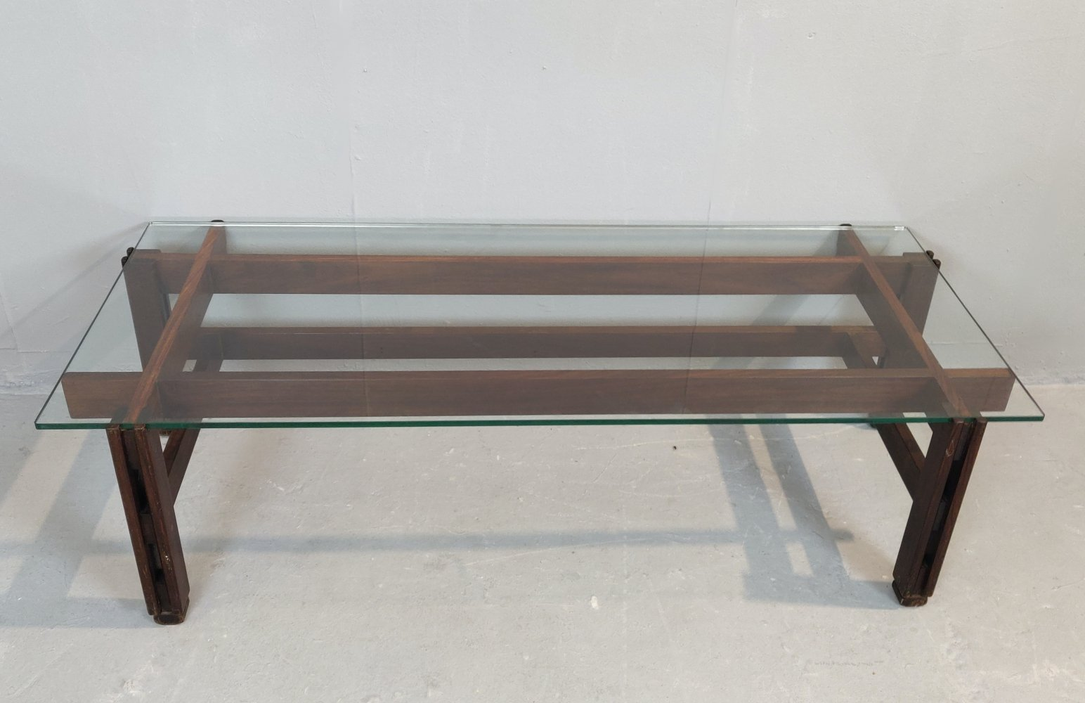Rosewood Coffee Table by Ico Parisi, 1960s