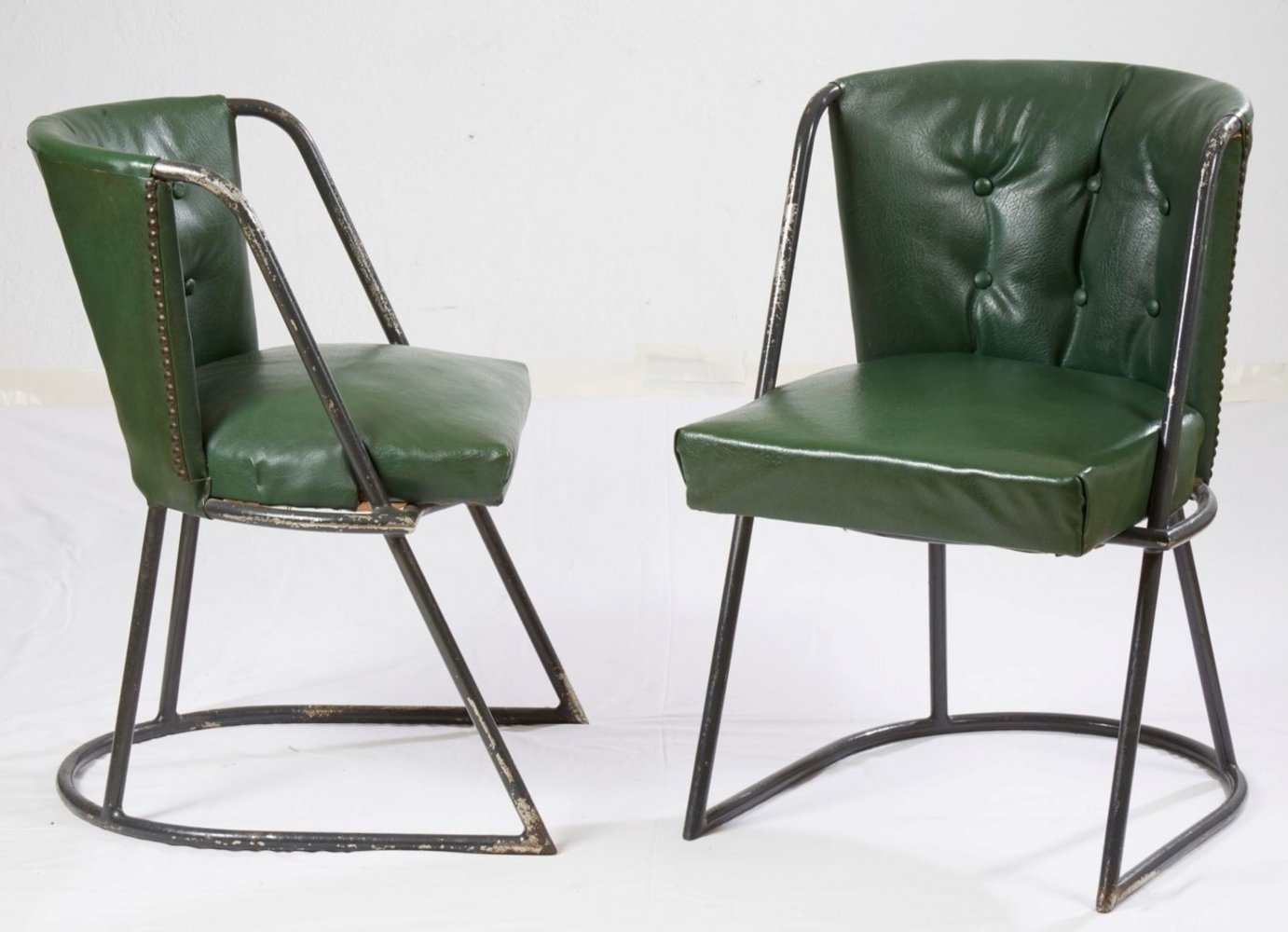 Pair of arm chairs by Louis Sognot & Charlotte Alix, 1930s