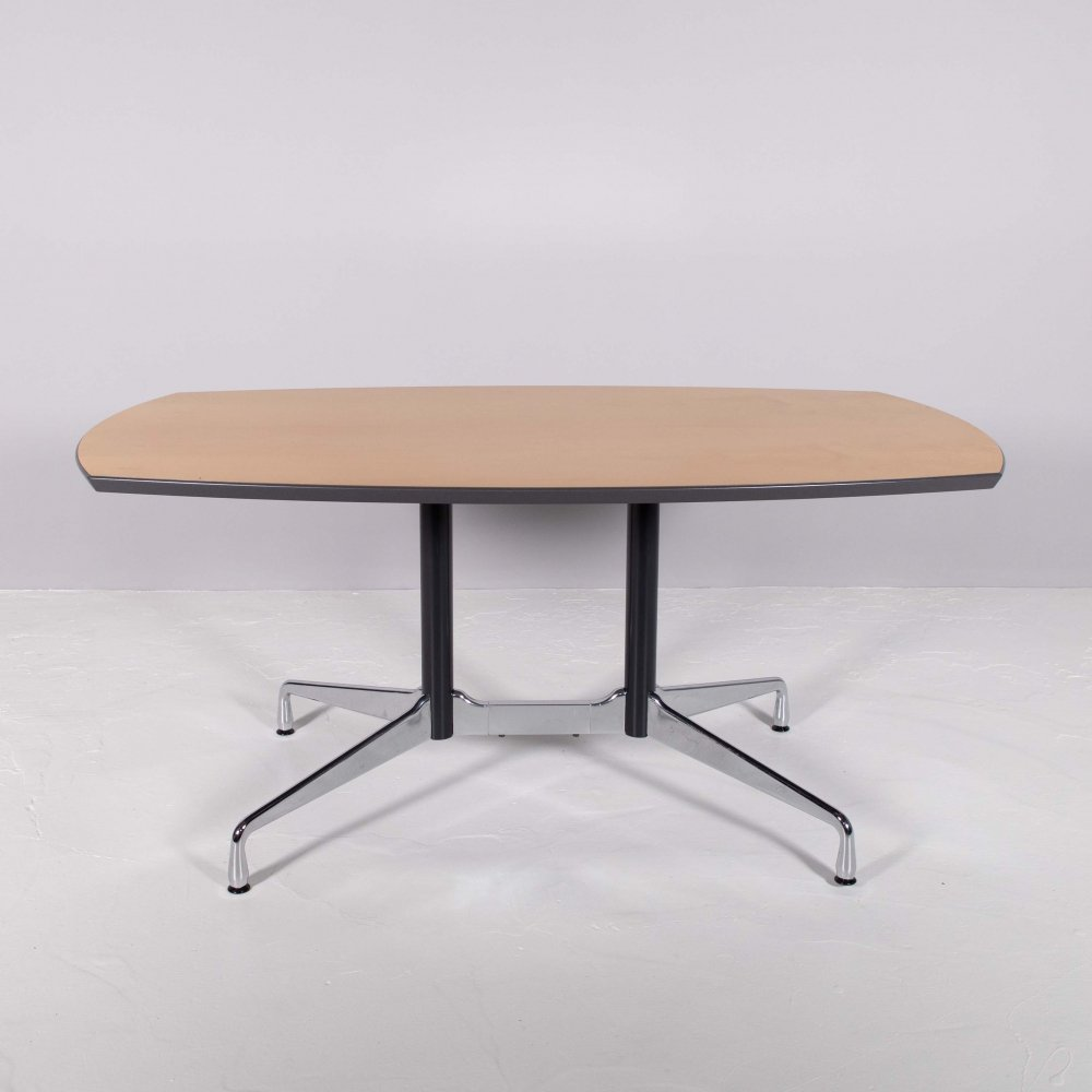 Oval conference/dining table by Ray & Charles Eames for Vitra, 1980s
