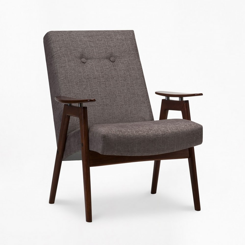 Type 6950 arm chair by TON, 1960s
