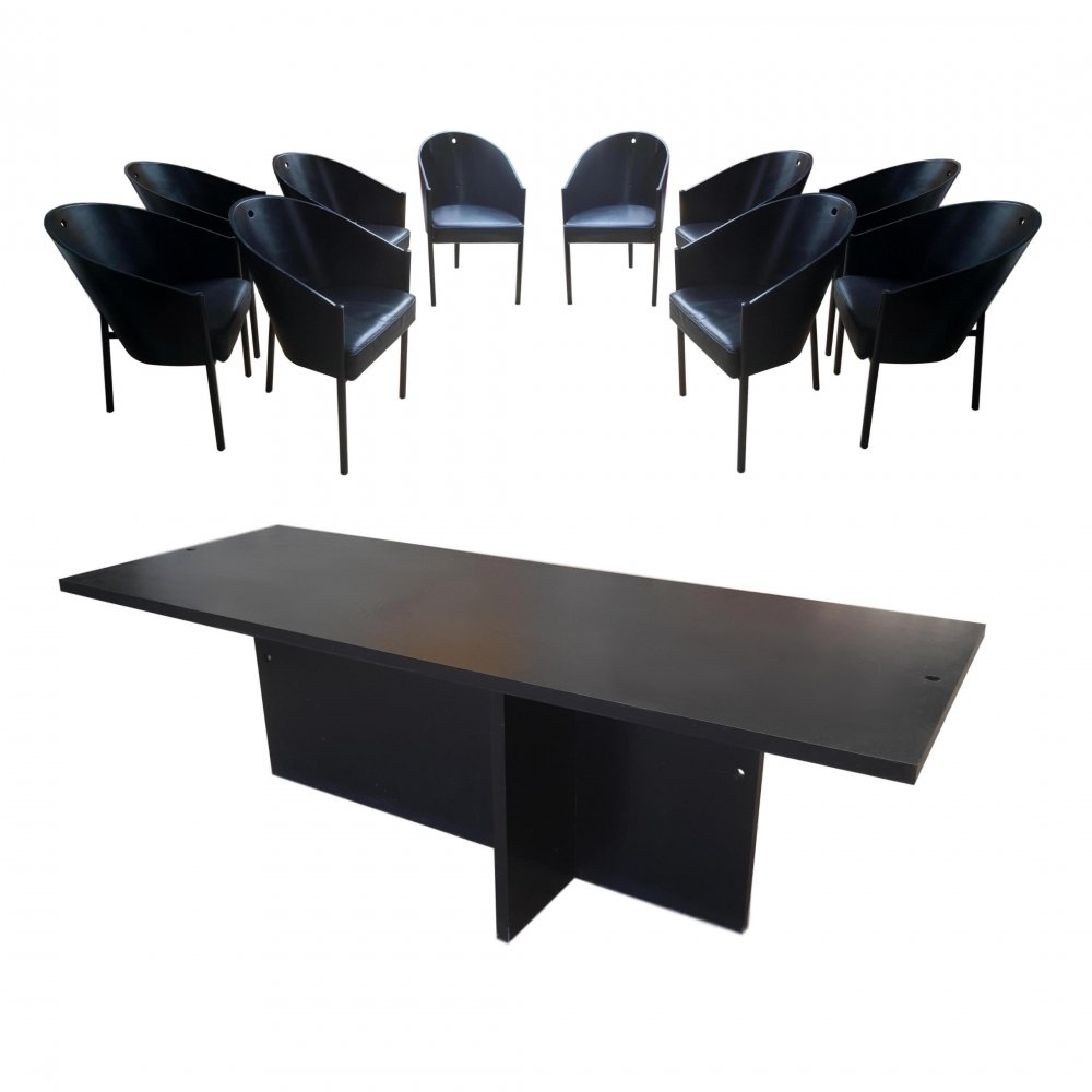 Philippe Starck 10x Armchairs + Table Costes for Driade