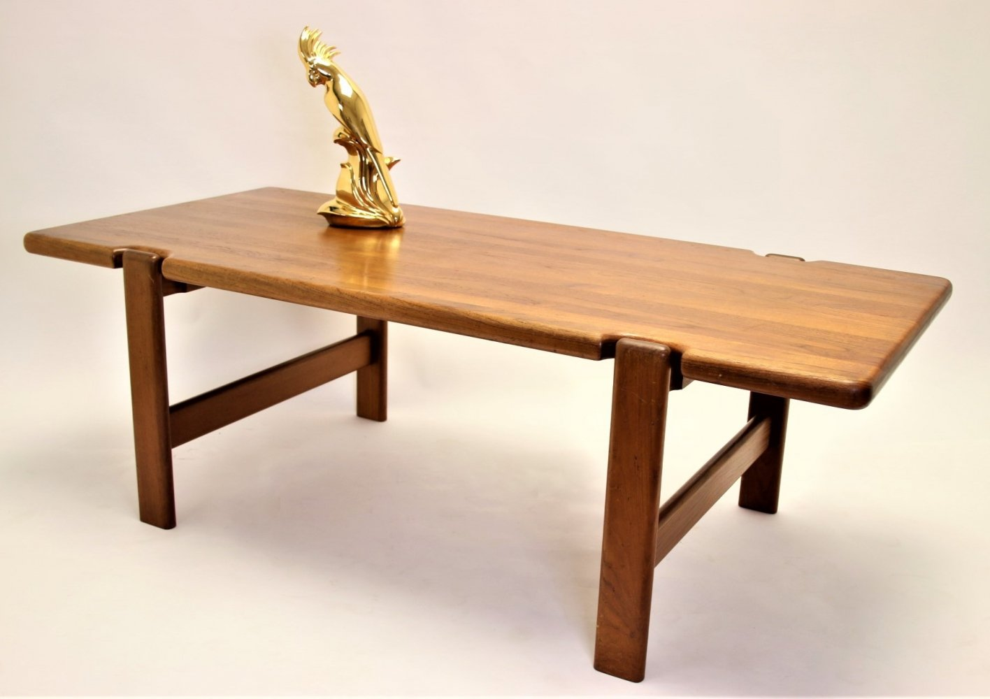 Solid Teakwood Scandinavian design coffee table