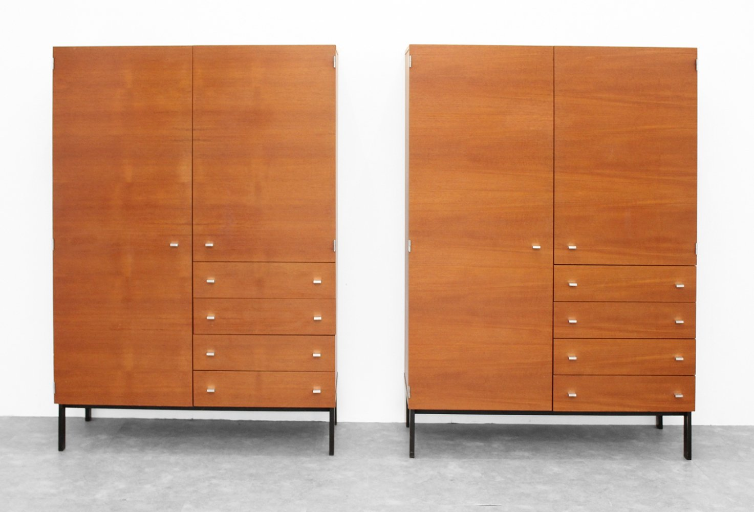 Couple of wardrobes by Meurop, 1970s