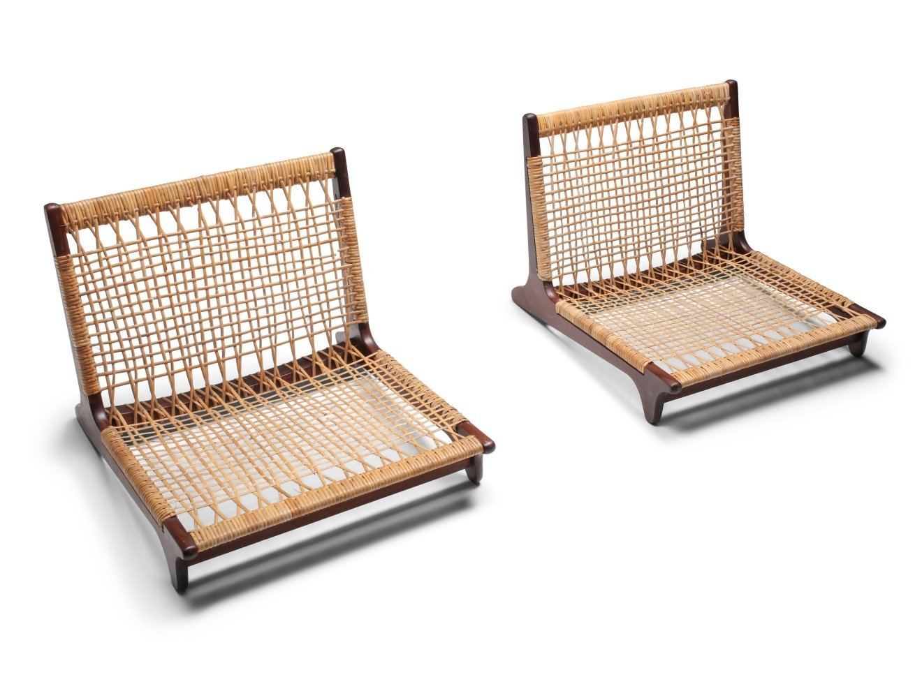 Hans Olsen low lounge chairs, 1960