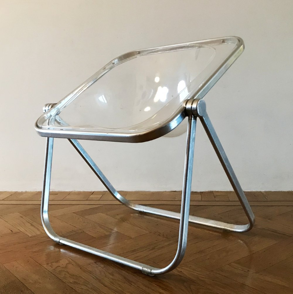 Lucite 'Plona' chair by Giancarlo Piretti for Castelli, 1969