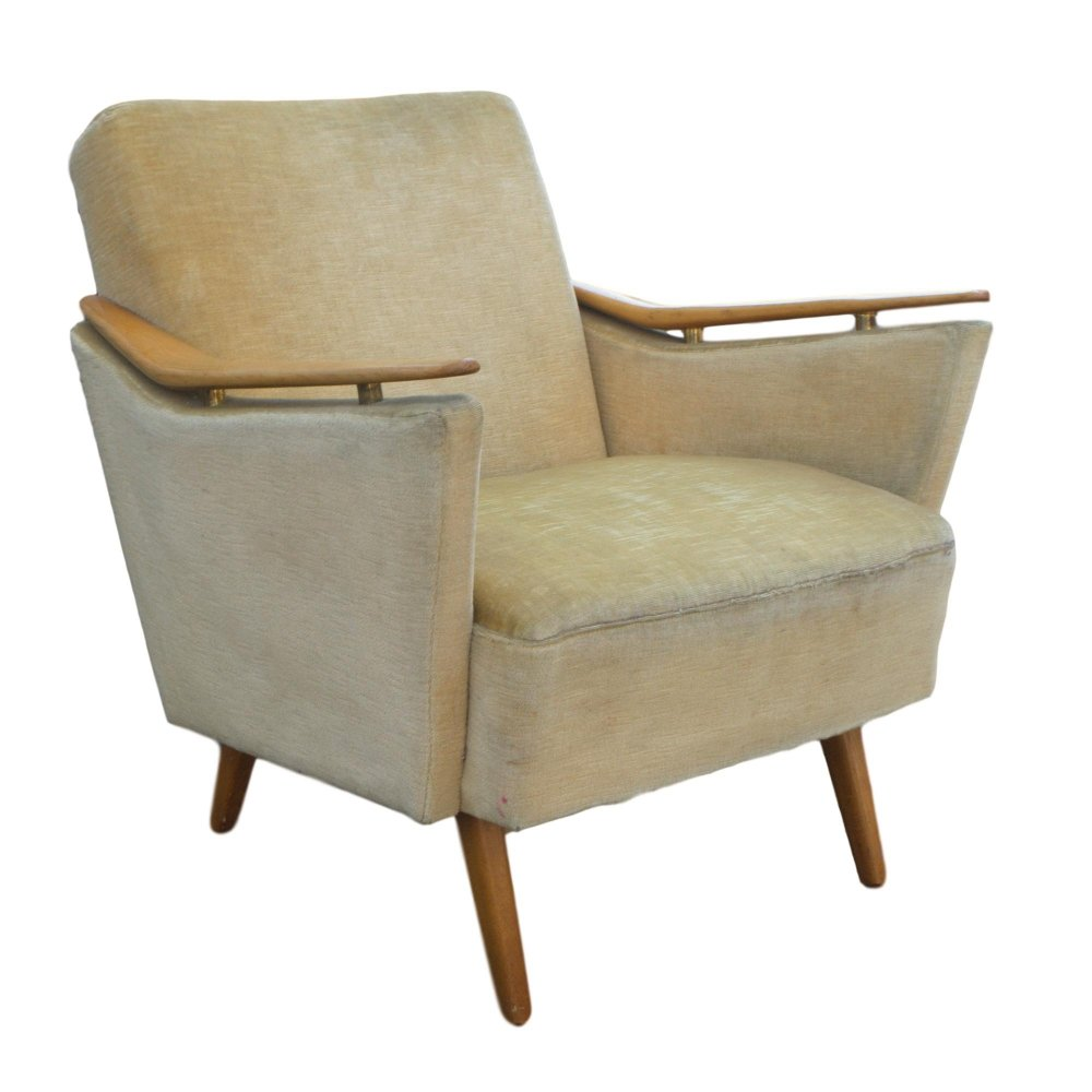 4 x vintage arm chair, 1950s