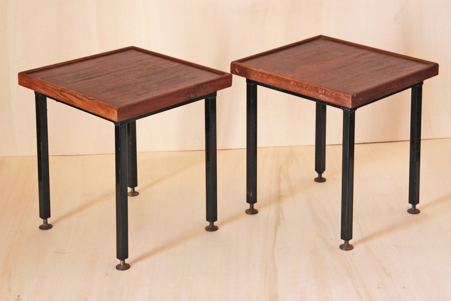 Pair of Scandinavian coffee tables, 1950s