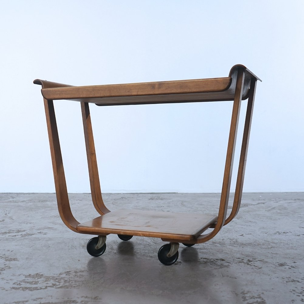 Serving trolley by Cees Braakman for Pastoe, 1950