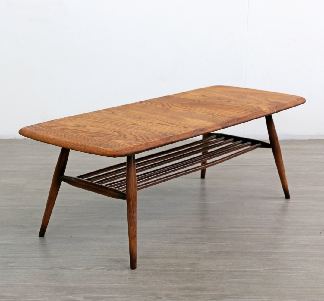 Ercol Coffee Table with magazine rack