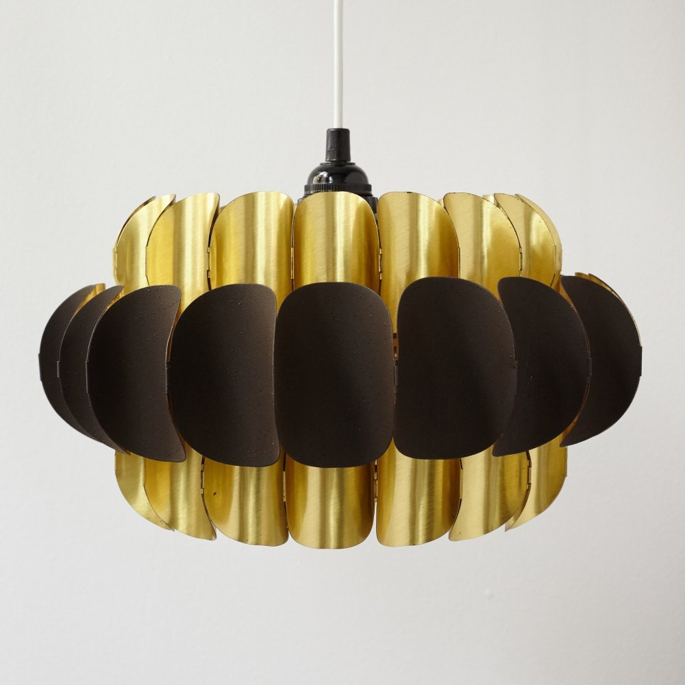 Pendant Lamp by Werner Schou for Coronell, Denmark 1970s
