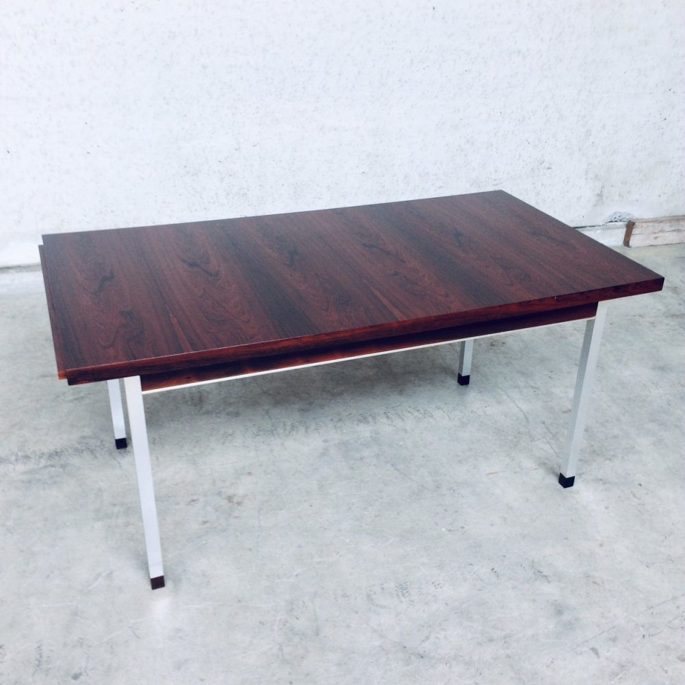 Midcentury Modern Extendable Dining Table in Rosewood, 1960
