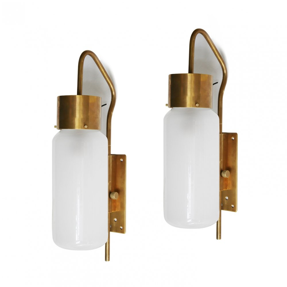Pair of wall lights by Luigi Caccia Dominioni for Azucena, 1950s