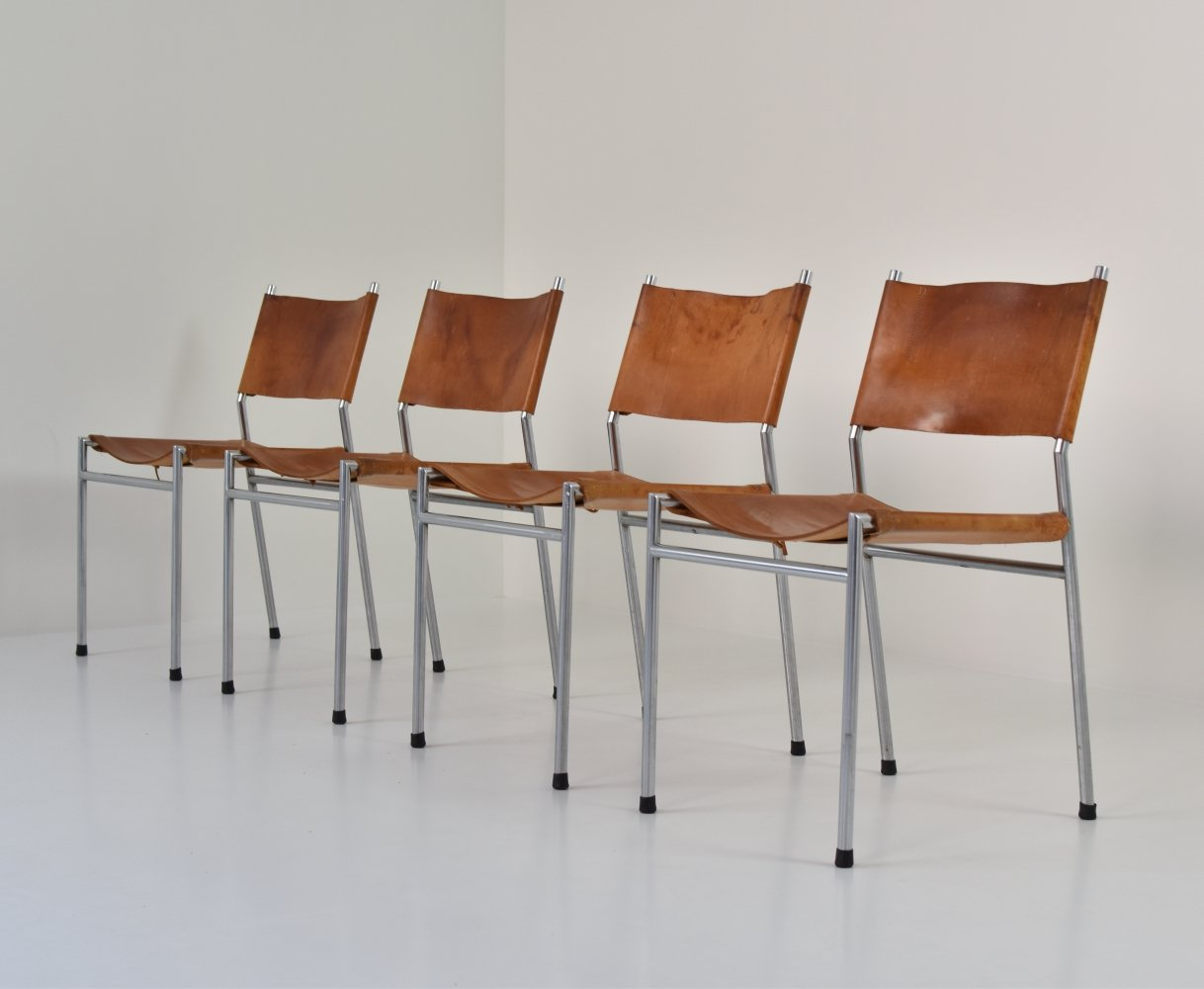 SE06 dining chairs by Martin Visser for
