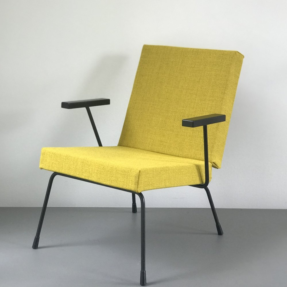 4 x model 1407 arm chair by Wim Rietveld & André Cordemeyer for Gispen, 1960s