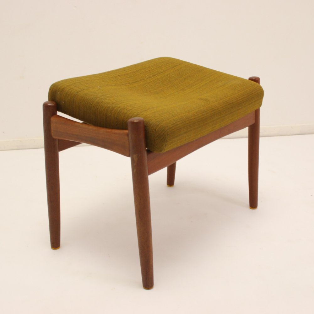 Danish footstool or hocker, 1960s